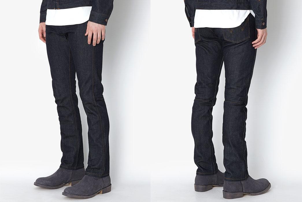 Nonnative-Cowboy-5p-Jeans-11mwz-Cotton-13oz-Denim-Nw-By-Wrangler-Front-Back