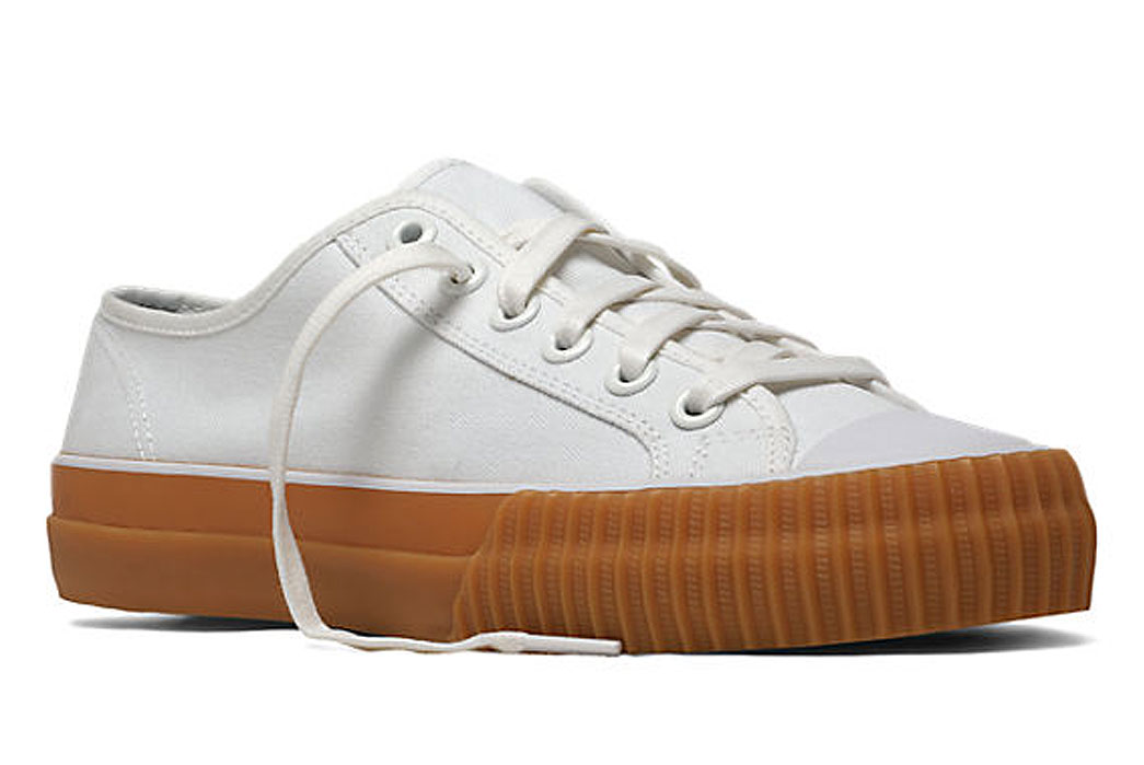 PF-Flyers-Center-Lo-Gum-Sole-White-Sneaker-Front