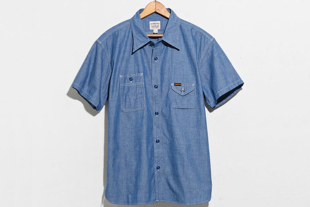 Pherrow's-750WSS-Work-Shirt-Blue