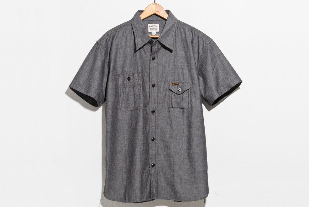 Pherrow's-750WSS-Work-Shirt-Gray