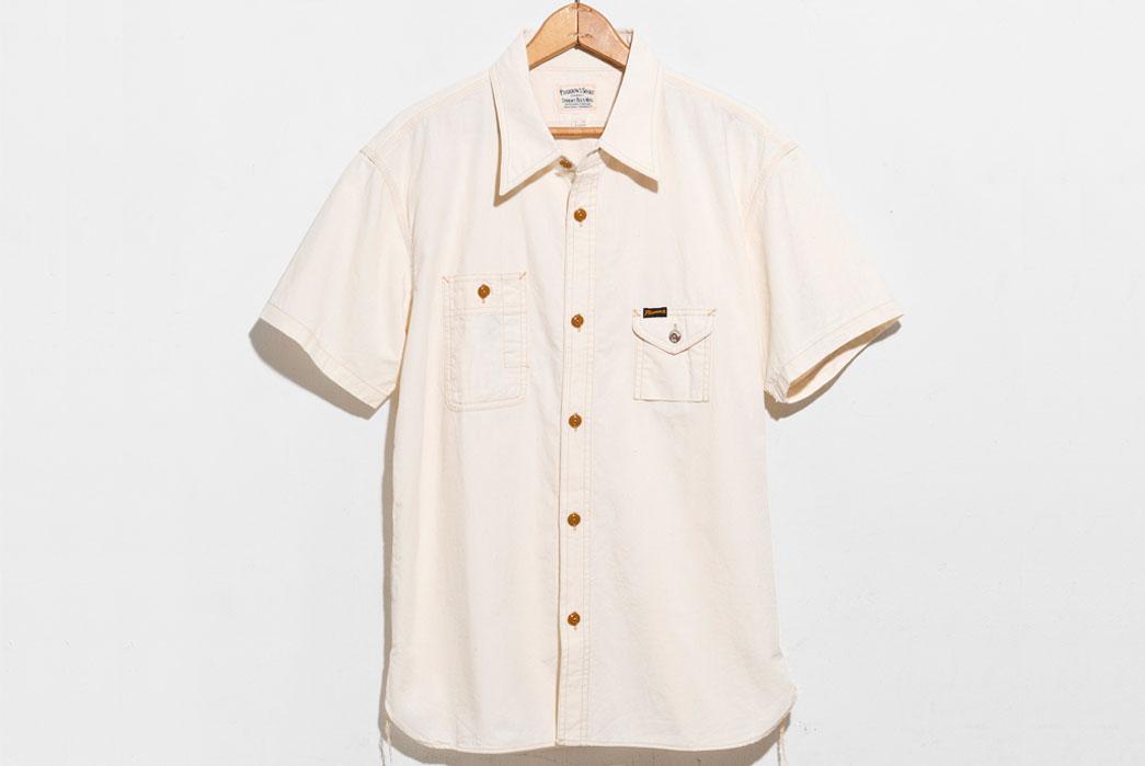 Pherrow's-750WSS-Work-Shirt-White