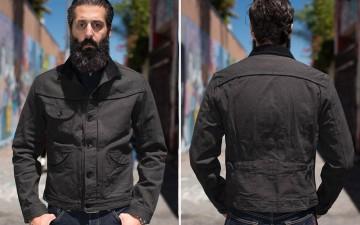 Stevenson-Deputy-Ranch-Black-Denim-Jacket-Model-Front-Back