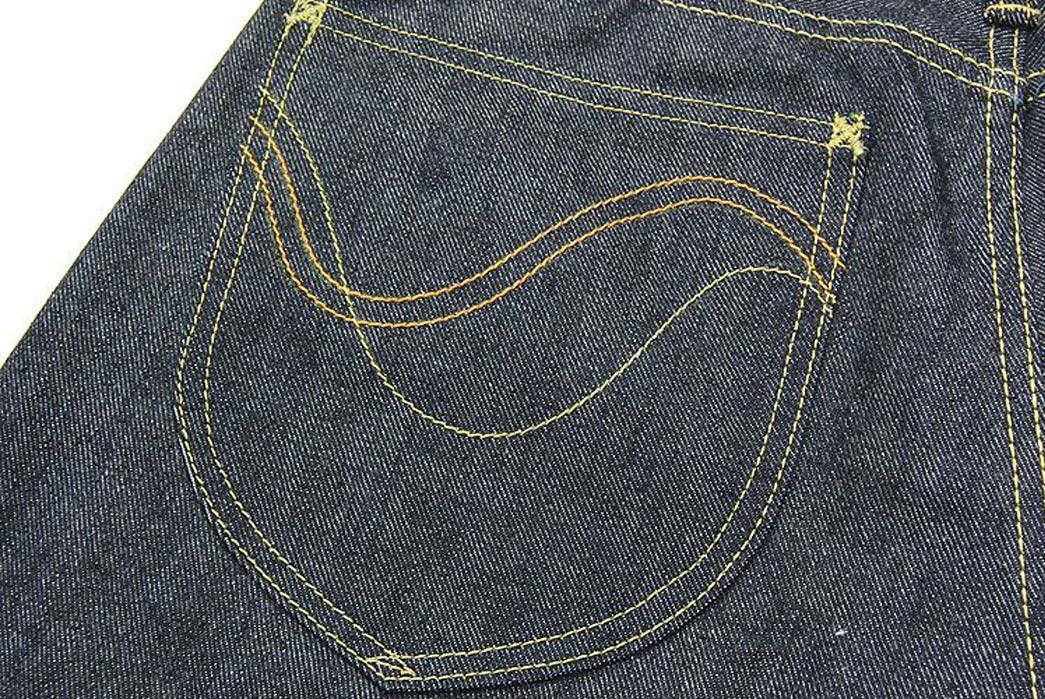 Studio-D'Artisan-OKI-815-Heiwa-Champloo-70th-Anniversary-Jeans-Back-Pocket