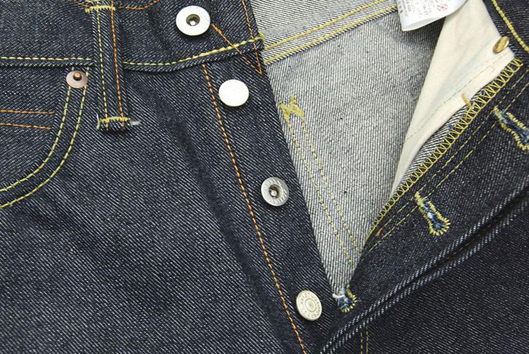 Studio-D'Artisan-OKI-815-Heiwa-Champloo-70th-Anniversary-Jeans-Buttons