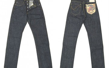 Studio-D'Artisan-OKI-815-Heiwa-Champloo-70th-Anniversary-Jeans-Front-Back