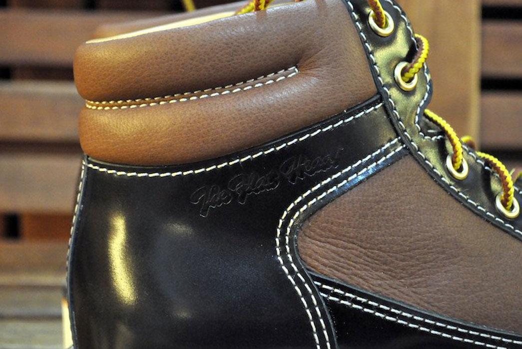 The-Flat-Head-Cordovan-Deerskin-Hiking-Boot-Overside-Detail