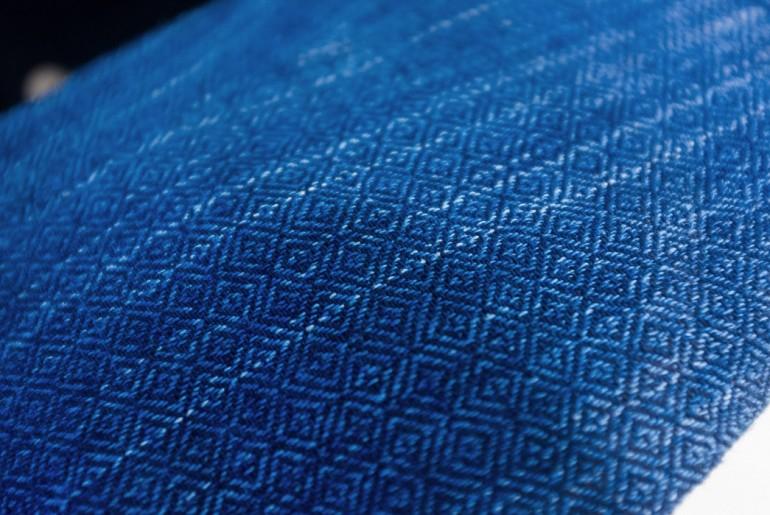 Three-ANimals-Indigo-Jacquard-Fabric-Detail-Capsule-SS17