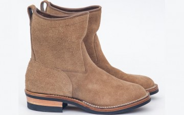Viberg-x-Meadow-Natural-Chromexcel-Roughout-Roper-Boot-Both