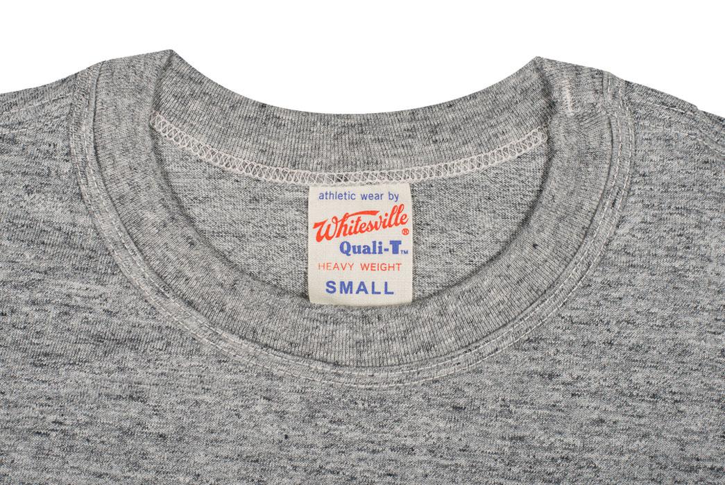 Whitesville-Made-in-Japan-Tubular-Knit-T-Shirt-Gray-Closeup-Collar