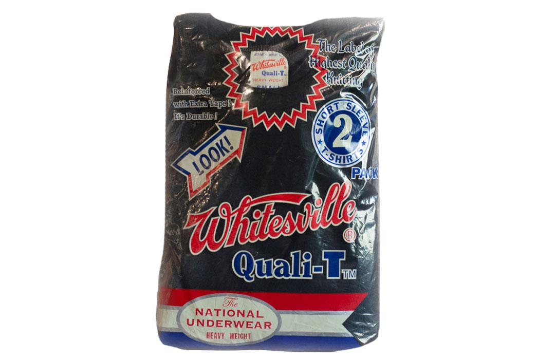 Whitesville-Made-in-Japan-Tubular-Knit-T-Shirt-Plastic-Package-Black