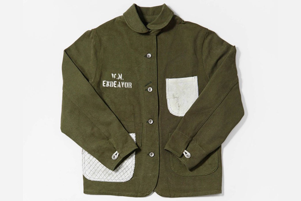 W'Menswear-Chore-Coat-Green-Front