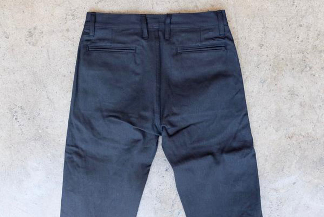 3sixteen-12oz-Japanese-Selvedge-Twill-Chino-Black-Back