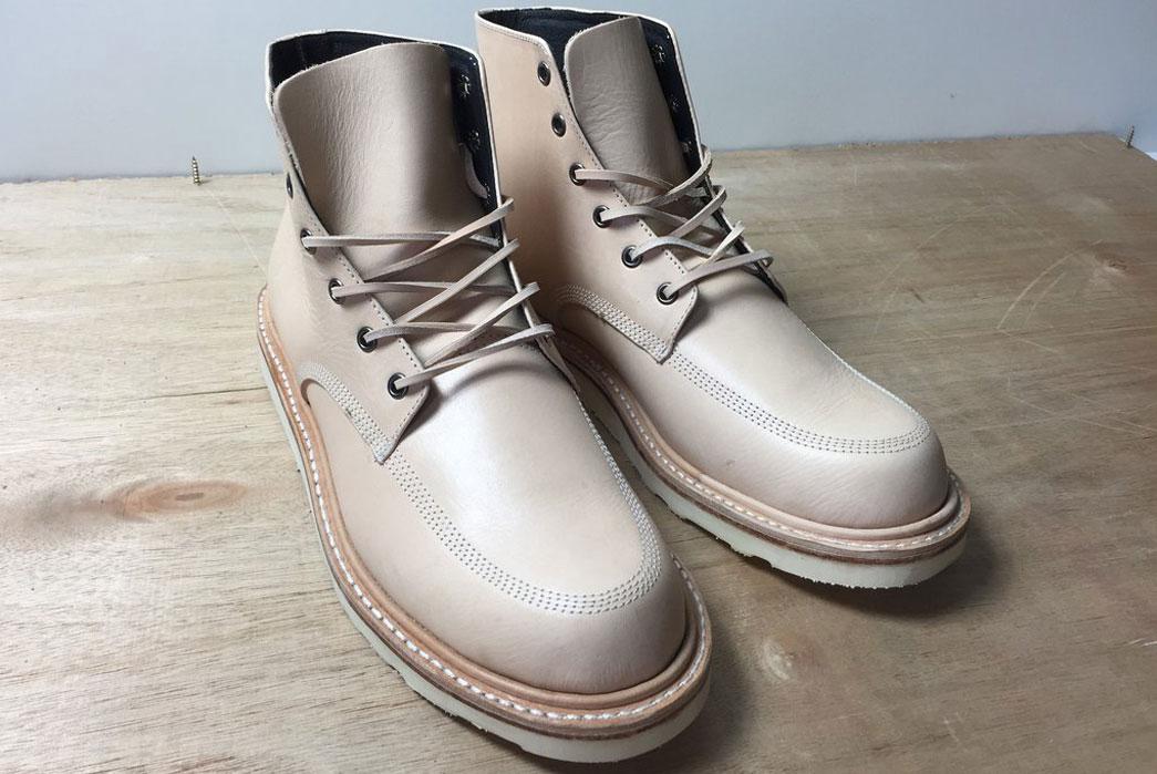 Blue-Seven-x-Broken-Homme-Veg-Tanned-Leather-Moc-Toe-Boot-Front