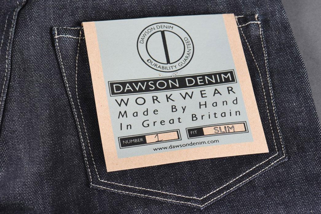 Dawson-Denim-X-Rivet-&-Hide-14.25oz-Japanese-Selvedge-Denim-Slim-Tapered-Jean-Label