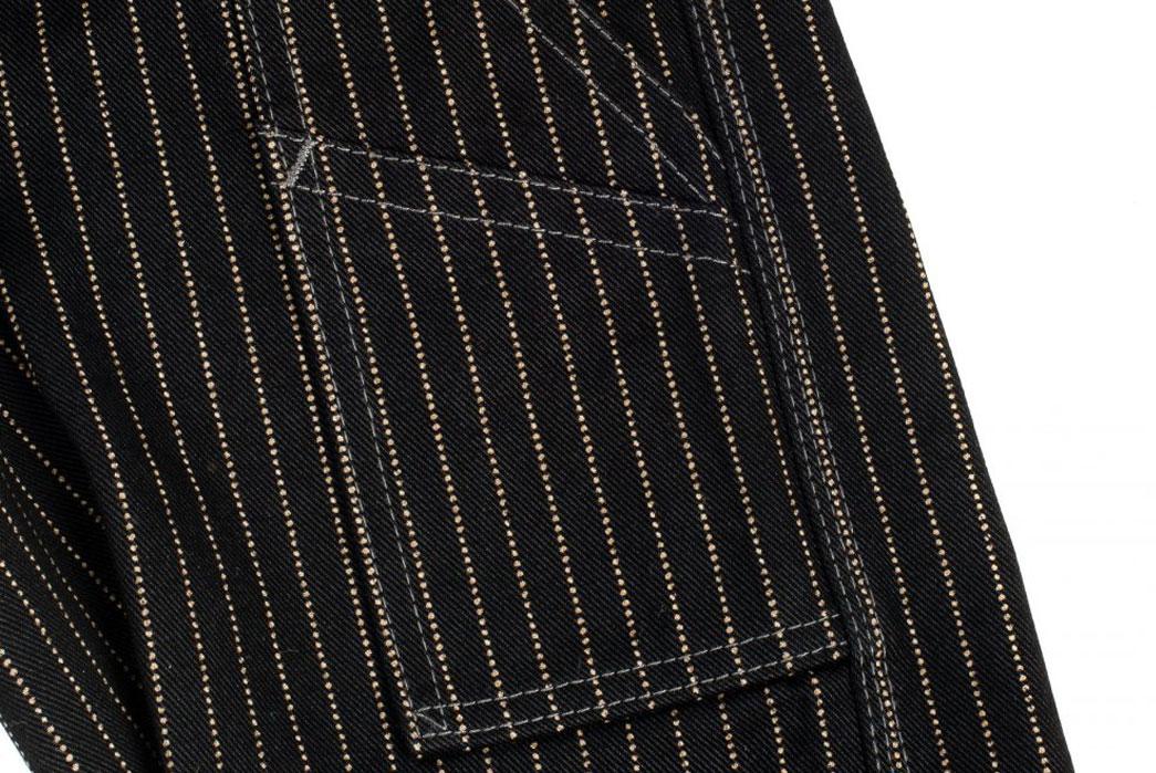 Iron-Heart-IH-814-Wabash-Stripe-Black-Wabash-Painter's-Pants-Cloth