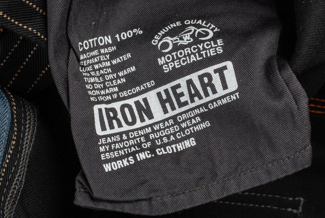 Iron-Heart-IH-814-Wabash-Stripe-Black-Wabash-Painter's-Pants-Patch