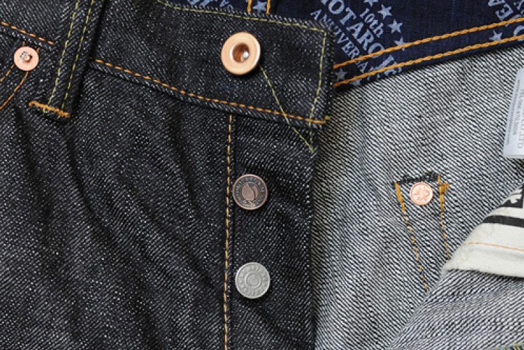 Momotaro-Jeans-10th-Anniversary-15-7oz-Original-Slub-Denim-Buttons