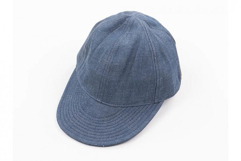 Nige-Cabourn-Lybro-Blue-Selvedge-Denim-USMC-Cap-Front</a>