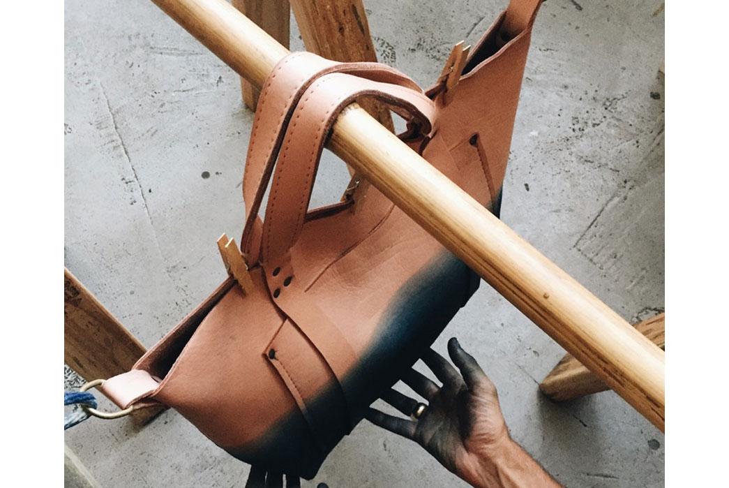 Poglia-Custom-Indigo-Dyed-Natural-Veg-Tan-Porter-Bag-3