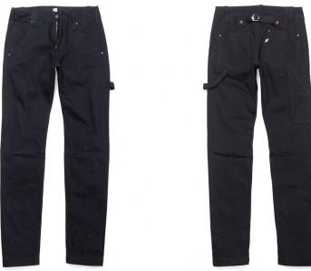 Pure-Blue-Japan-14oz-Deep-Indigo-Selvedge-Slim-Fit-Work-Pants-Front-Back