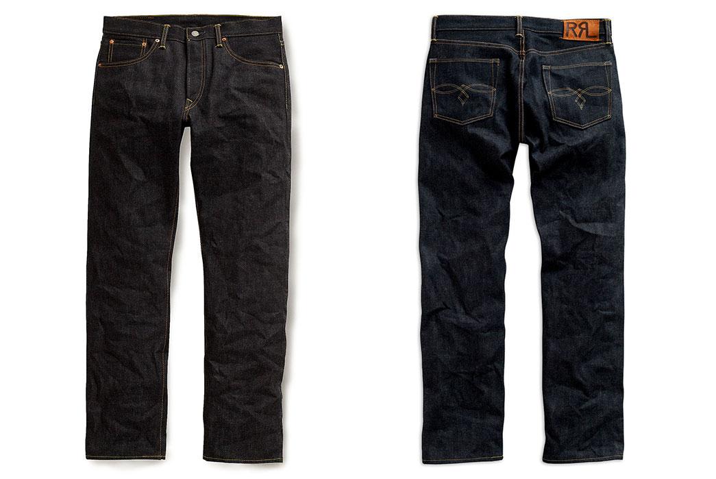 RRL-Low-Straight-raw-denim-jeans