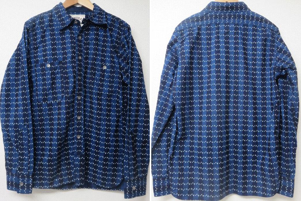 Samurai-Jeans-SMBS-Makishibi-Wabash-Indigo- Shirts-2