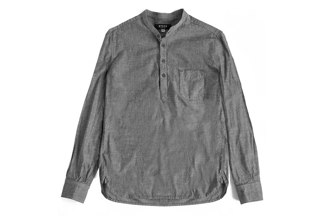 Stock-Mfg-Asphalt-Gray-Banded-Collar-Popover-Front