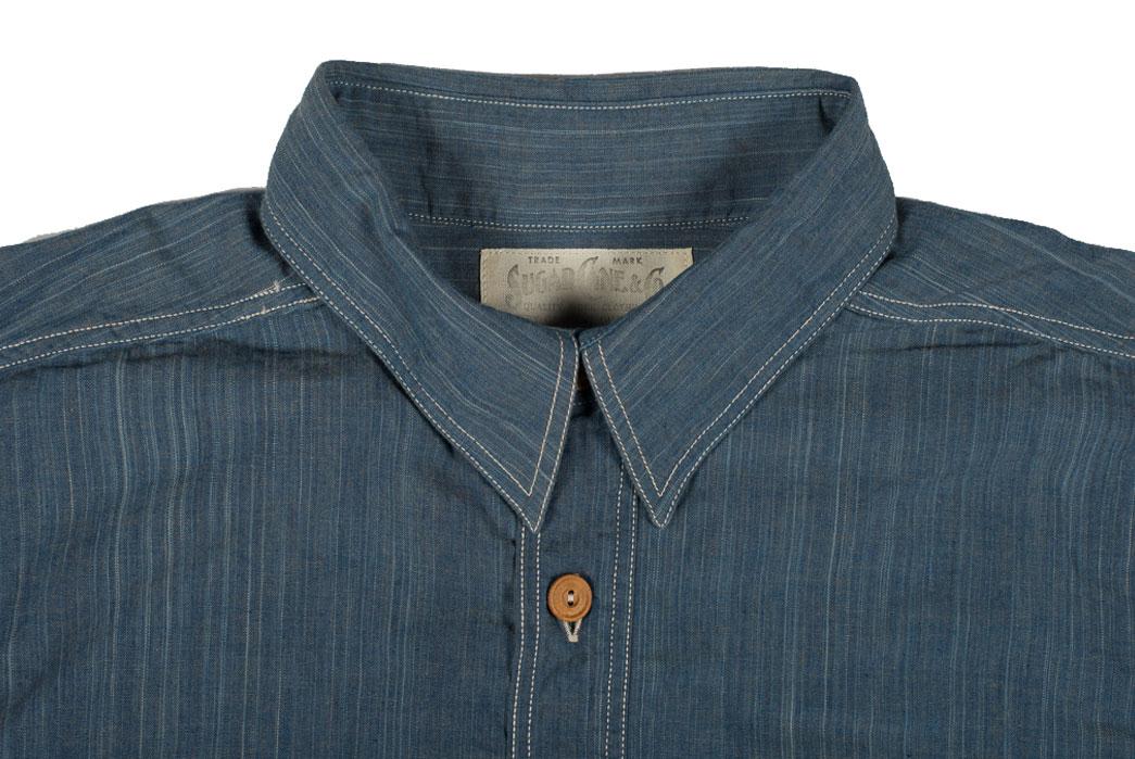 Sugar-Cane-Blue-Moonshine-Hank-Dyed-Natural-Indigo-Workshirt-Collar