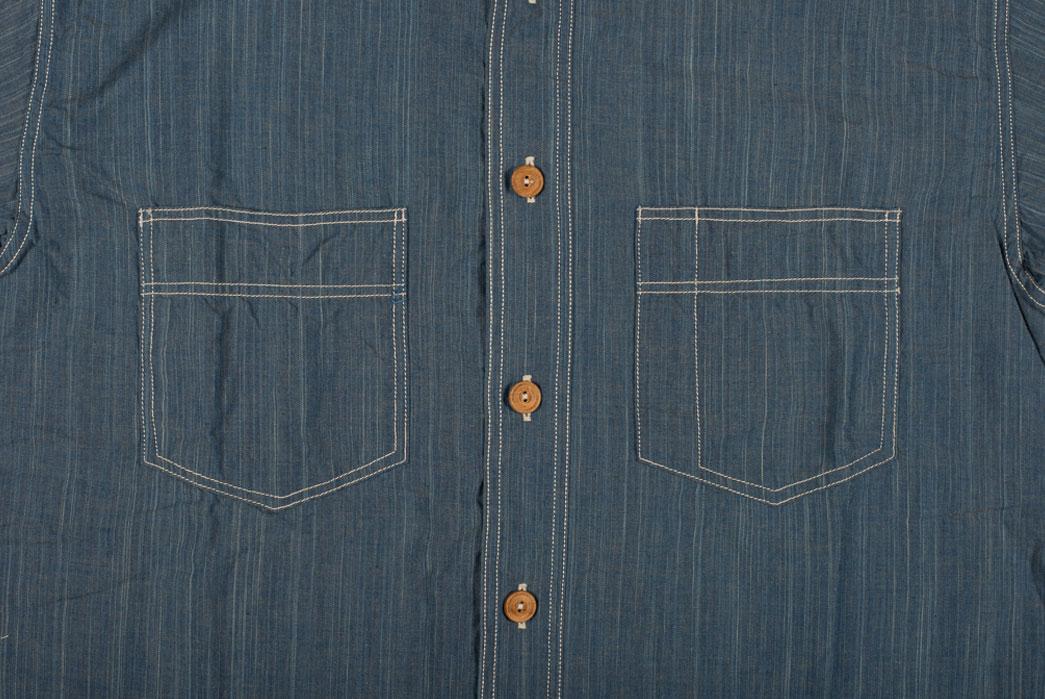 Sugar-Cane-Blue-Moonshine-Hank-Dyed-Natural-Indigo-Workshirt-Front-Pockets-Buttons