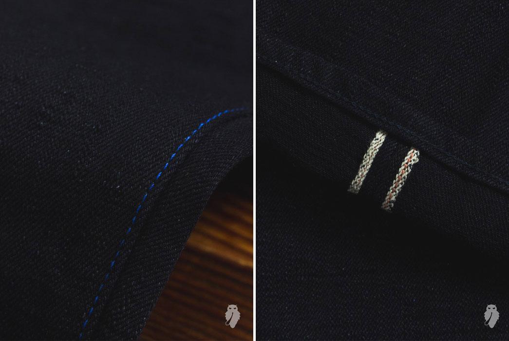 Tanuki-Double-Indigo-15oz-Unsanforized-Selvedge-Denim-Cloth-Selvedge