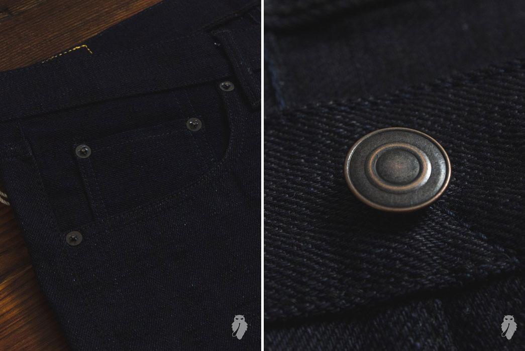 Tanuki-Double-Indigo-15oz-Unsanforized-Selvedge-Denim-Pocket-Button