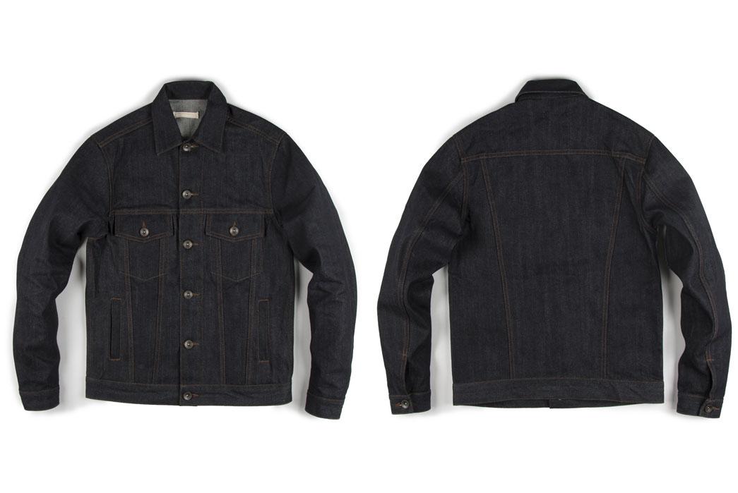 Type-III-Jackets-Five-Plus-One-1-Unbranded-UB901-14.5Oz-Indigo-Selvedge-Jacket