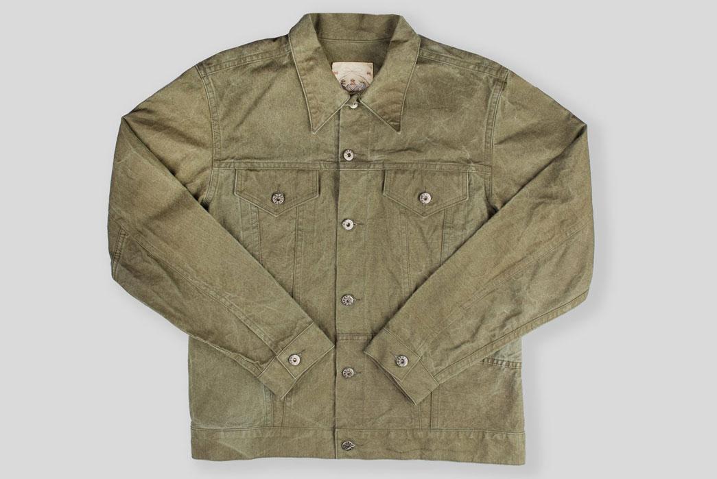 Type-III-Jackets-Five-Plus-One-6-Plus-One-Monitaly-US-Army-Tent-Trucker-Jacket