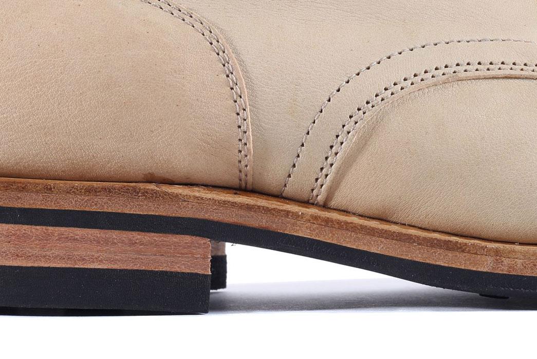Viberg-Service-Boot-in-Italian-Beige-Kangaroo-Leather-Cloth