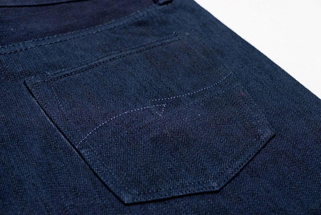 Warpweft-Co-Superior-Ten-Special-15oz-Unsanforized-Indigo-x-Indigo-Selvedge-Denim-Jeans-Back-Pocket