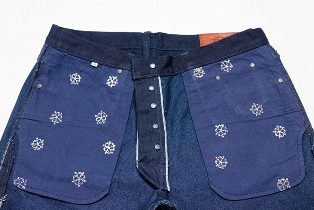 Warpweft-Co-Superior-Ten-Special-15oz-Unsanforized-Indigo-x-Indigo-Selvedge-Denim-Jeans-Bag-Pockets