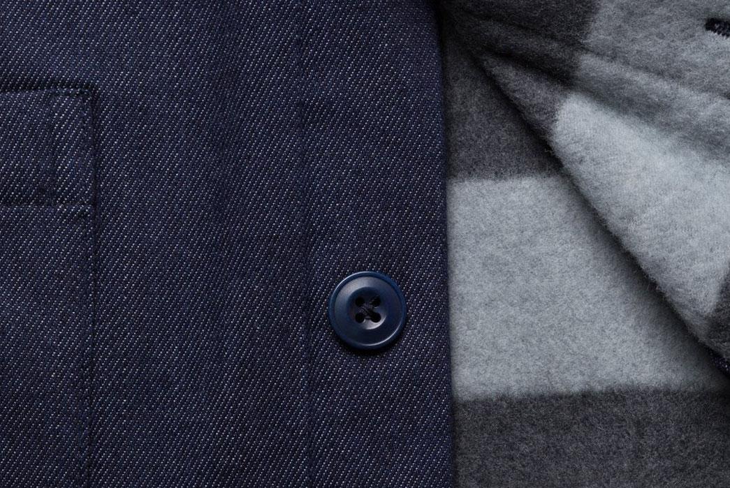 Corridor-NYC-Raw-Denim-Blanket-Lined-Overshirt-Button