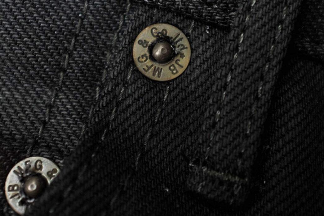 Japan-Blue-Jeans-ODJB004-Blackout-Selvedge-Jeans-Buttons