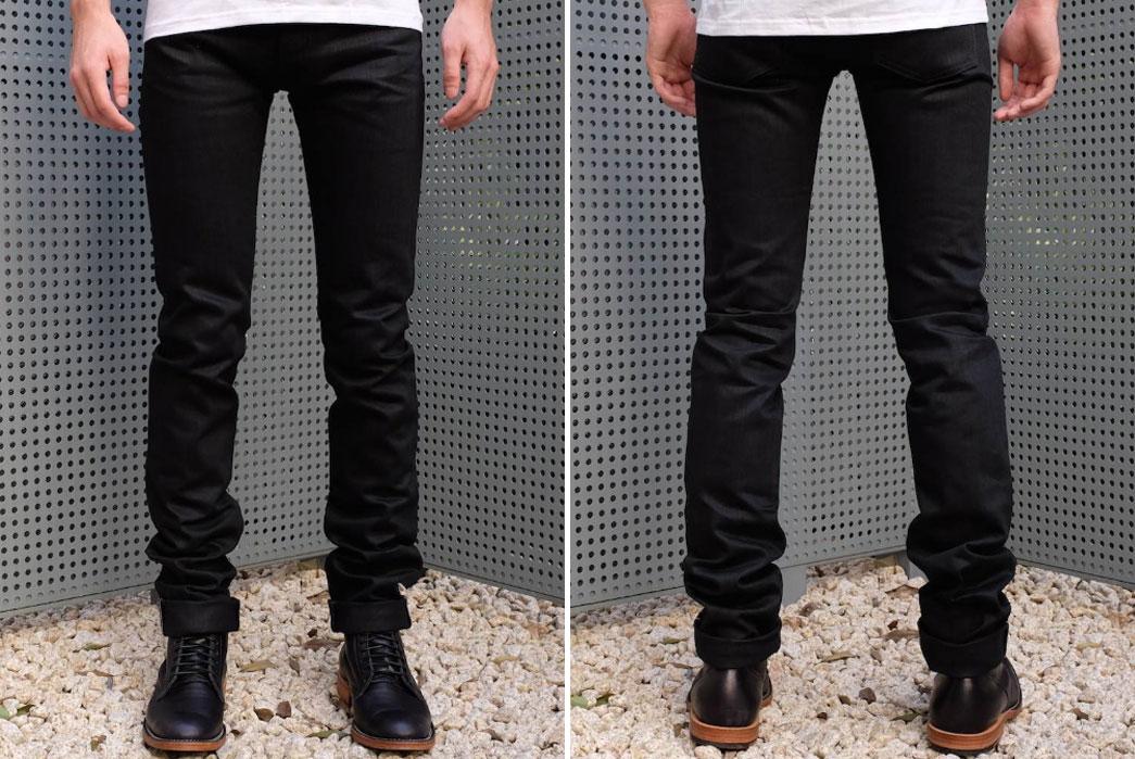 Japan-Blue-Jeans-ODJB004-Blackout-Selvedge-Jeans-Front-Back