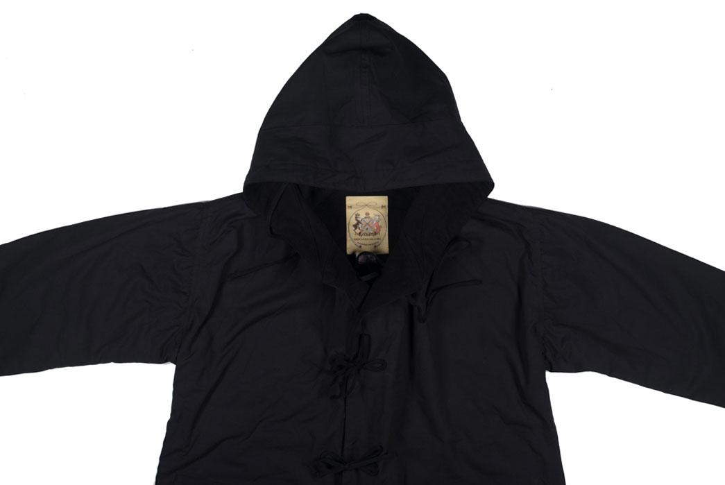 monitaly-vancloth-reversible-field-shell-jackets-black-front-close-up