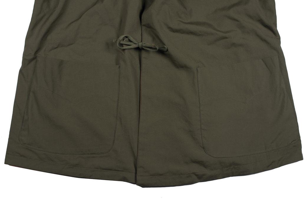 monitaly-vancloth-reversible-field-shell-jackets-olive-close-up