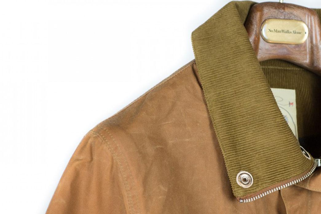 monitaly-wool-lined-waxed-cotton-field-jacket-collar