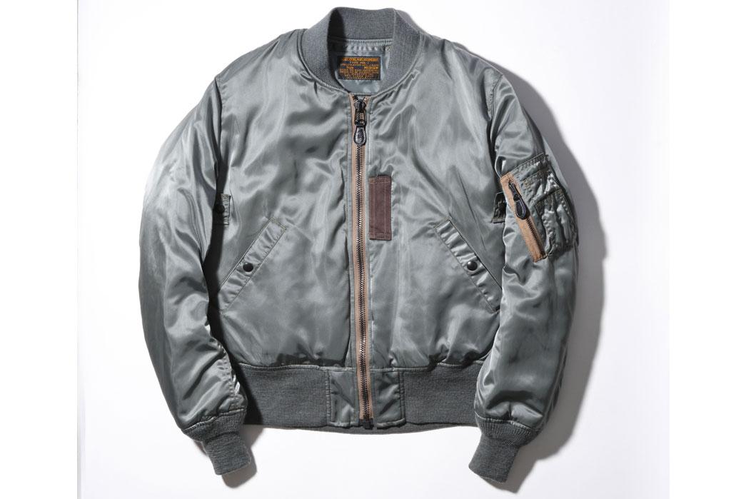 Pherrow's-Sportswear 25th-Anniversary-16W-MA-1-Jacket-Front