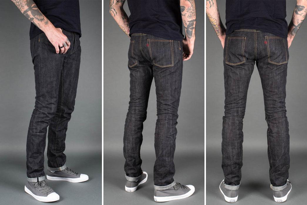 real-japan-blues-x-the-flat-head-x-rivet-hide-slim-tapered-jeans-model