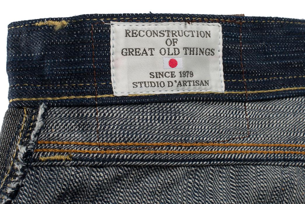 Studio-D'Artisan-Tokushima-Natural-Indigo-Dyed-Denim-Jeans-Cloth-Interior