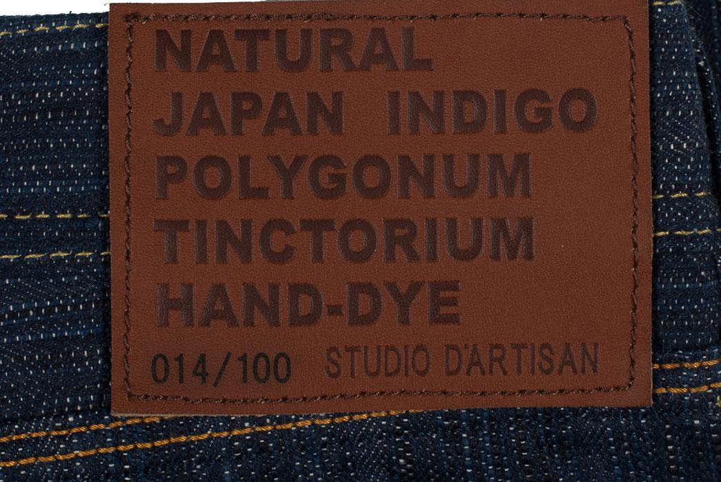 Studio-D'Artisan-Tokushima-Natural-Indigo-Dyed-Denim-Jeans-Patch