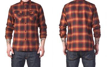 3sixteen-crosscut-ombre-flannels-front-back-orange