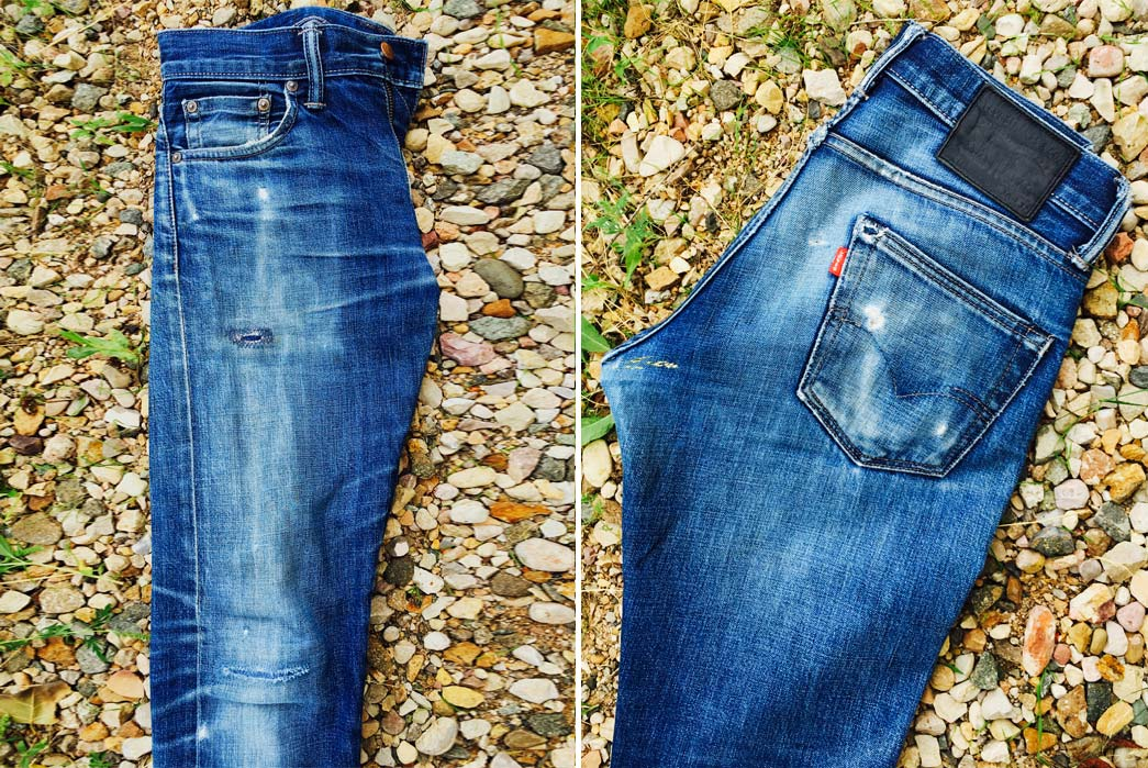 Fade of the Day – Levi's 511 Wet Indigo (4 Years, 5 Washes, 10 Soaks)