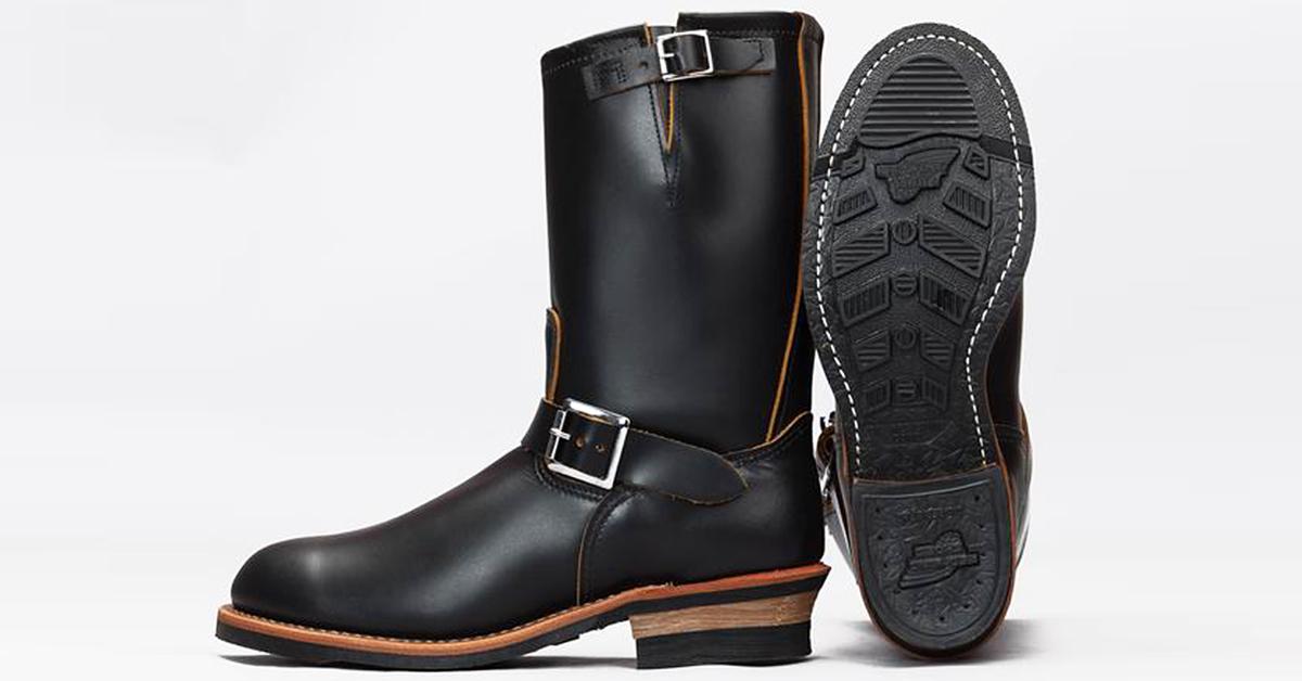 Black Klondike 2966 Engineer Boot