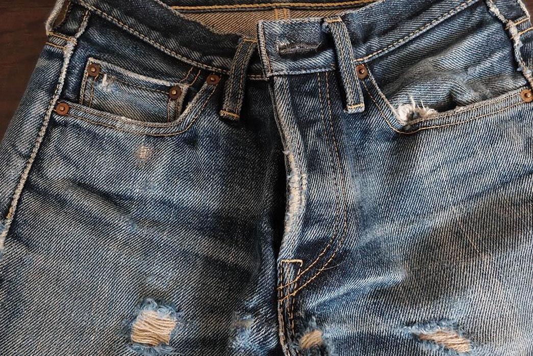 iron-heart-301s-raw-denim-jeans-front-closeup